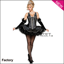 2013 sexy movis Halloween Costumes with black tutu dress