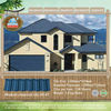 color stone coated architectural roof shingle-blue roofing shingles