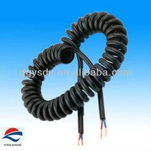 UL20862 multiple-core spiral elastic cord