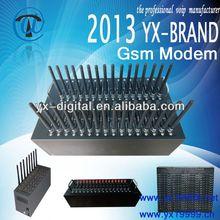 1/8/16/32/64 ports USB modem pool/GSM sms modem /gsm modem pool sim adapter