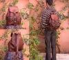 Moroccan leather backpack #189 Moroccan leather backpack