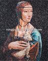 Kunst design glas mosaico hand- geschnitten bild muster fliesen für wand