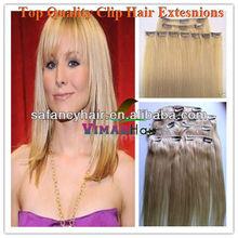 5A high quality virgin professional hair clip