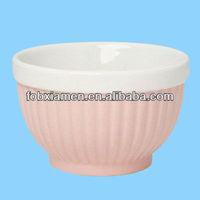 Customized Ceramic Porcelain Ramekin Baking Bowl