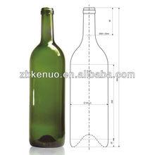 glass bottle 3 L for wine /grape wine/red wine