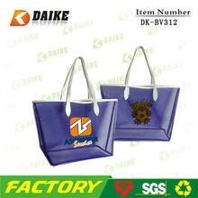 Custom Eco Mesh silk screen print non woven shopping bag DK-BV312