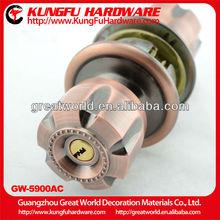 GW5900AC High Quality Zinc Alloy Ball Door Lock shelf support