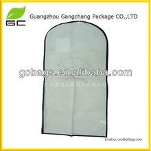 2013 fashion style promotional plastic garment bag travel
