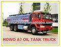 Caminhão de howo 20000l 6x4 caminhão-tanque de combustível