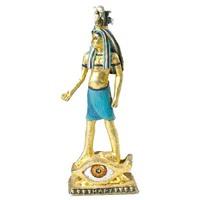 custom egyptian god figurine pyramid sculpture
