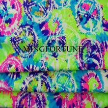 Lycra Plain Dyed nylon single jersey fabrics stocklot