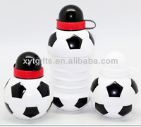 2013 Wholesale 450ml PP Football Shaped Folding Water Bottle