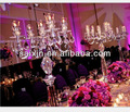 Singular candelabro de cristal para el evento& decoración del partido