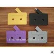 Cassette tape shaped colorful usb flash drive 2.0