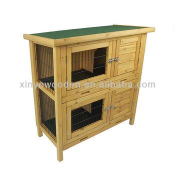 Wooden Rabbit Hutch LWRH-1003