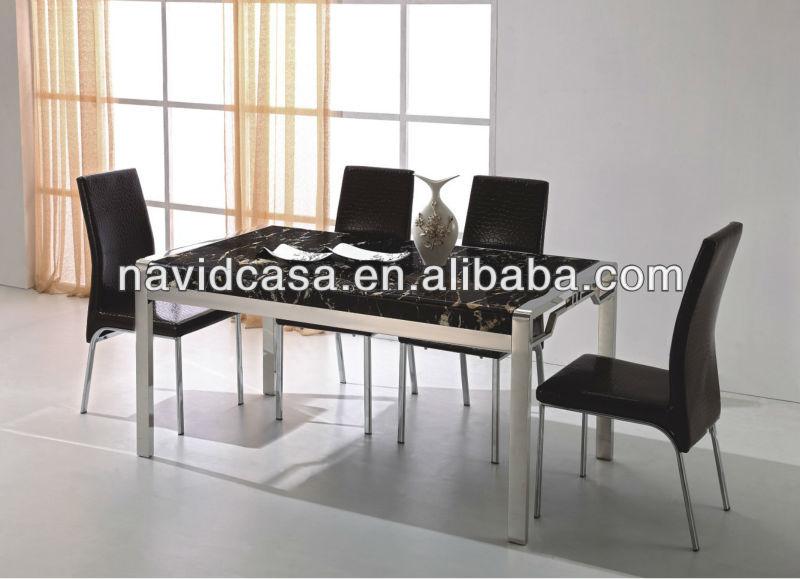 Goedkope groothandel moderne tafels en stoelen voor keuken eettafels product id 1180976032 dutch - Oude tafel en moderne stoelen ...