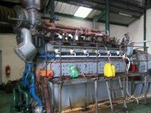 Used diesel generators from power plant