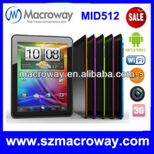 "MID 8"" tablet computer dual core 1gb ram android4.1.1, 1GB 8GB, front camera 0.3MP, 2.aMP at back, HDMI tablet"