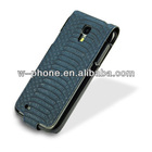 JX-TH219-4 Galaxy S4 Leather Flip Cover for Samsung i9500