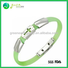 Hot sale Popular Promotional gifts silicone ion sport band