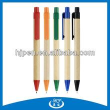Cheap Promotional Recycled Kraft Paper Ball Pen