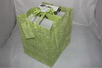 one dollar shop/walmart supplier/walmart item green flower gift paper bag wholesale