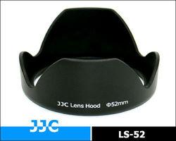 JJC 52 mm Universal Flower Sharp Screw-in Lens Hood LS-52 for standard zoom lens for Canon, Nikon,Sony and other DSLR Cameras