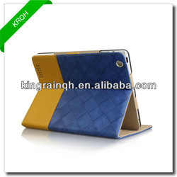 For ipad leather case , folio case With Stand for ipad