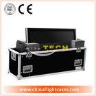 "Hot selling plasma tv flight case rack,dual 42"" plasma tv flight case"