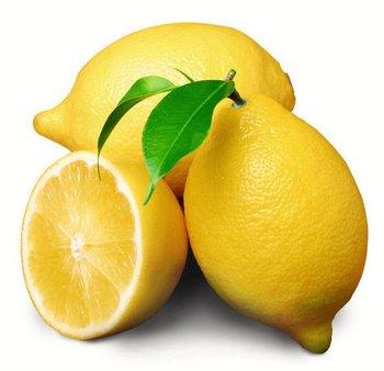 Fresh Yellow and Green Lemon