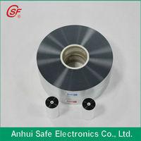 metallized polyethylene film for thin film capacitor