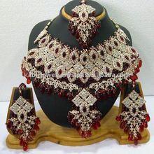 fancy wholesale handmade imitation artificial diamond jewellery
