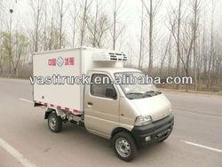 Changan mini refrigerated van/freezer truck for sale