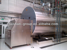 Horizontal fire tube 15ton Oil &Gas Steam generator making industry made by China professional factory