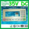 High Quality~~HOT!!~Smart bes~35V DC membrane switch panel sticker, 100mA flat membrane switch