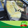Genuine sheepskin seat cushion for car