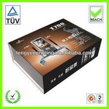 clear pet box/plastic box packaging/mobile phone box