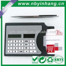Solar powered thin pocket credit card calculator XSDC0121