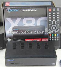 Premium opticum x80 with Conax CAS, BISS