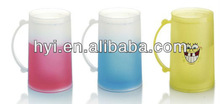 colorful plastic double wall freezer cups