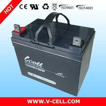 12V 150W dry batteries for ups