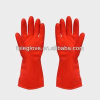 50g red household gloves rubber