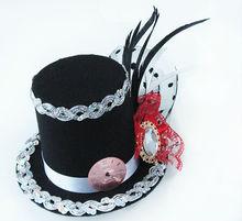 MYLOVE 9cm mini fascinator hat clock hat party MLGM035