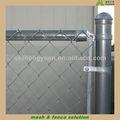 tubo de acero galvanizado cadena de enlace valla