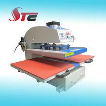 Pneumatic rhinestone hot press transfers