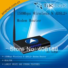 TIKTAK 1-14 channel (Japan) 4g wireless ADSL2+modem Router