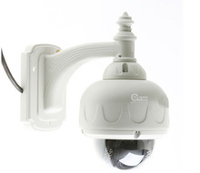 Outdoor/Indoor IR Color CMOS Camera with Night Vision/Cable through Bracket/Aluminum Camera Housing