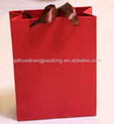 Red wedding gift paper packing bag