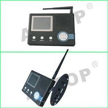 3.5 inch 2.4G Waterproof wireless colour ,unlock,moniter,video recording,photograph outdoor video triple monitor
