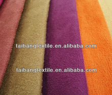 100% polyester suede fabric for boots/uggs/coat/car seat and etc.
